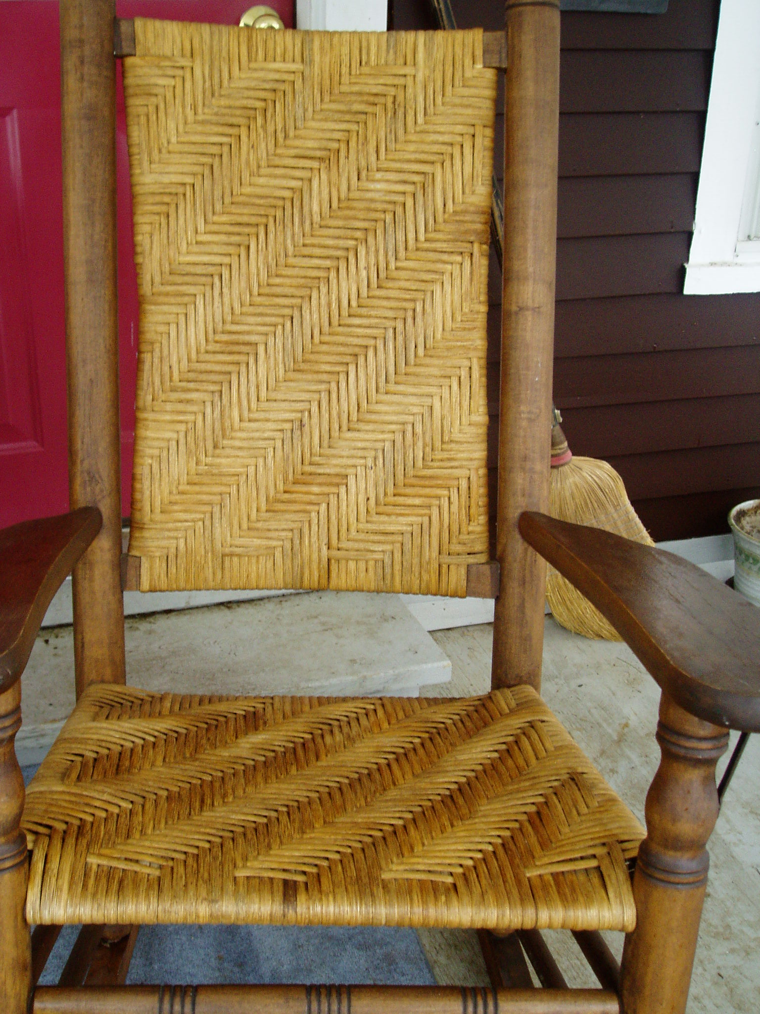Wonderful Sherman Chair Caning